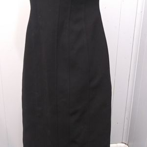 JS Collections Dresses - JS Collections Frill Top Mid-length Dress Sz 4
